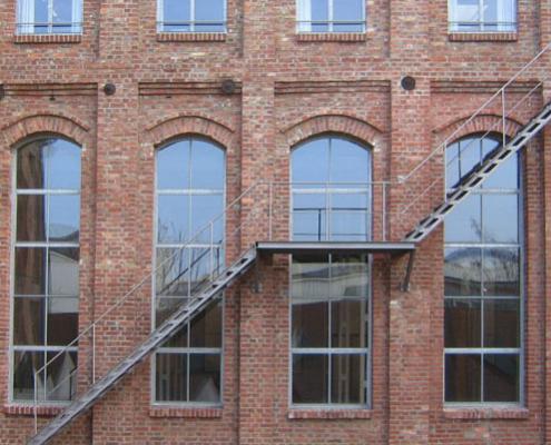 Stahlfenster Industrie-Design-Fenster, wärmegedämmt