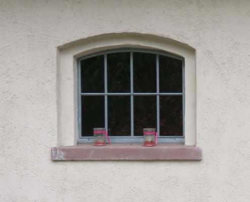 Stahlsprossenfenster wärmegedämmt mit Boden