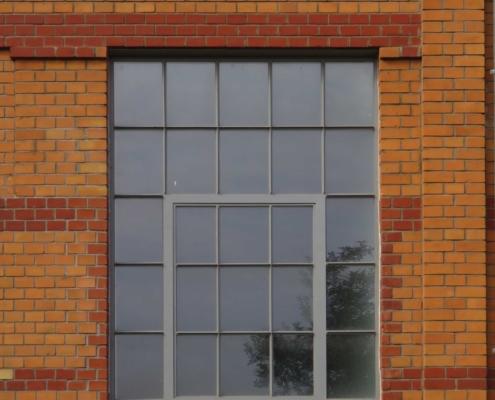 Stahlfenster, Loftfenster, mit Sprossen, im Idustriedesign